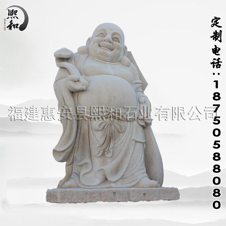 圆雕石佛像雕刻工序 - 惠安石雕工艺文化传承者-熙和